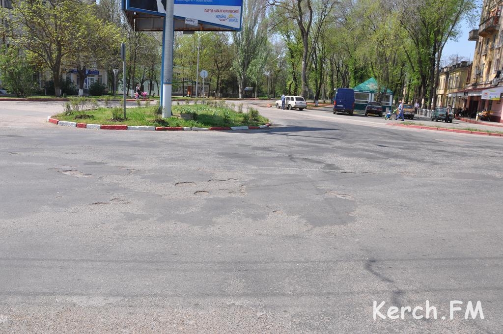 Керчь получила 300 млн. рублей на ремонт дорог