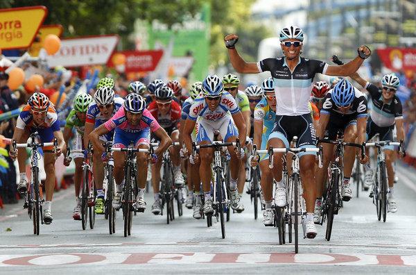 Симферополец, представляющий Украину, добрался до финиша «Тур де Франс»