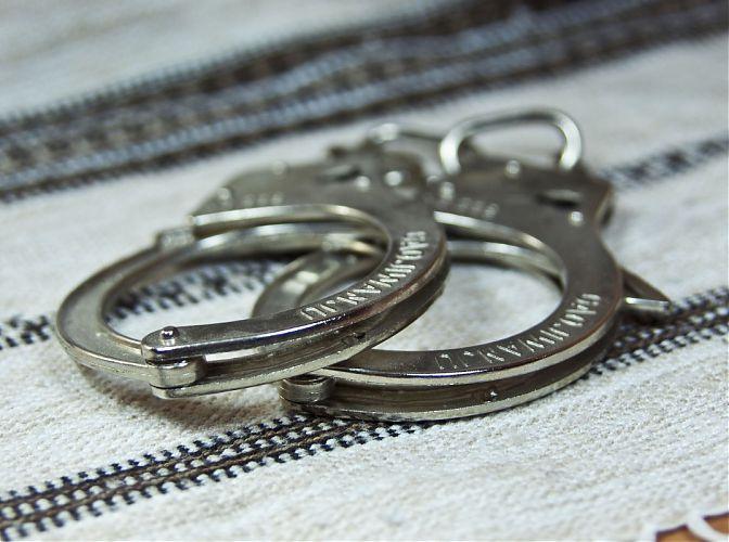 В Черноморском районе Крыма арестован начальник полиции и его заместитель