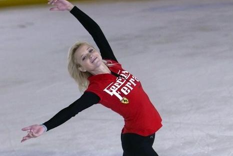 Участие в ледовом шоу в Крыму примет известная российская фигуристка