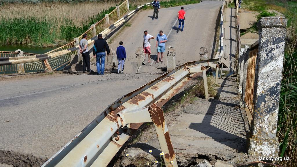 Только треть крымских мостов  не нуждается в ремонте