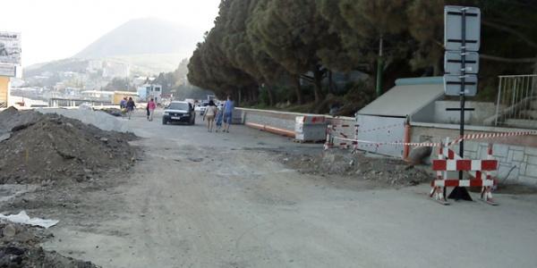 Из-за ремонтных работ увеличился объездной участок на трассе «Симферополь-Керчь»