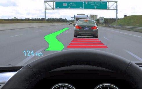 Разумно ли размещать голографический экран на лобовом стекле автомобиля?