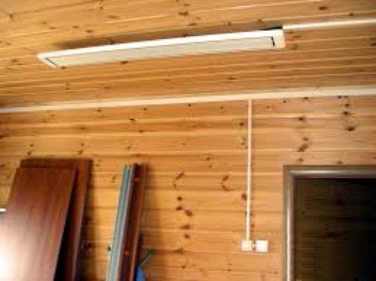 Инфракрасные потолочные нагреватели