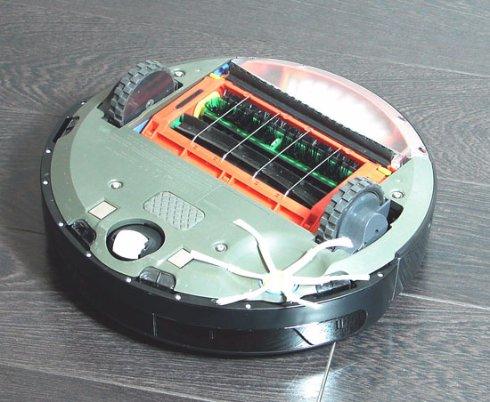 Датчики движения современных роботов-пылесосов