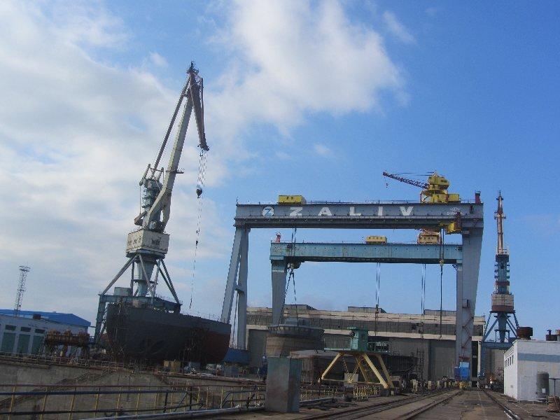 Судостроительный завод «Залив» намерен строить суда для греков