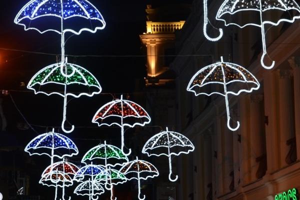 В Ялте можно посетить «улицу зонтиков»