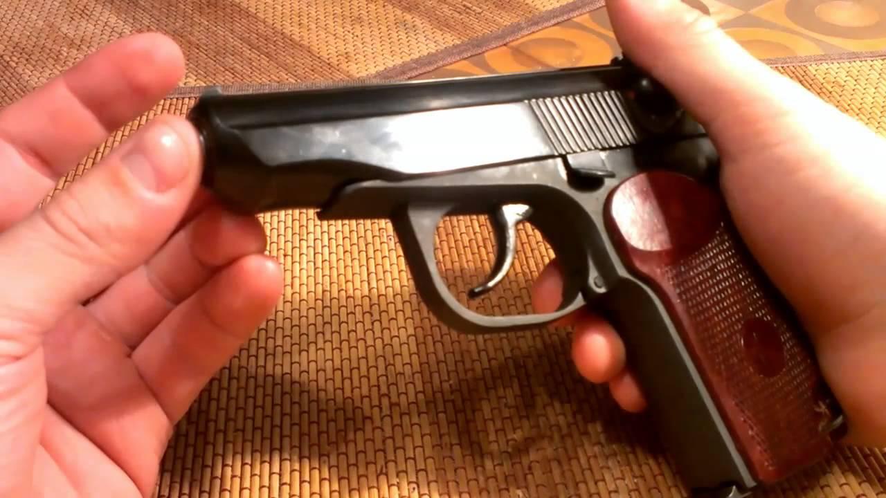 За незаконное хранение травматического пистолета крымчанина могут посадить на 4 года