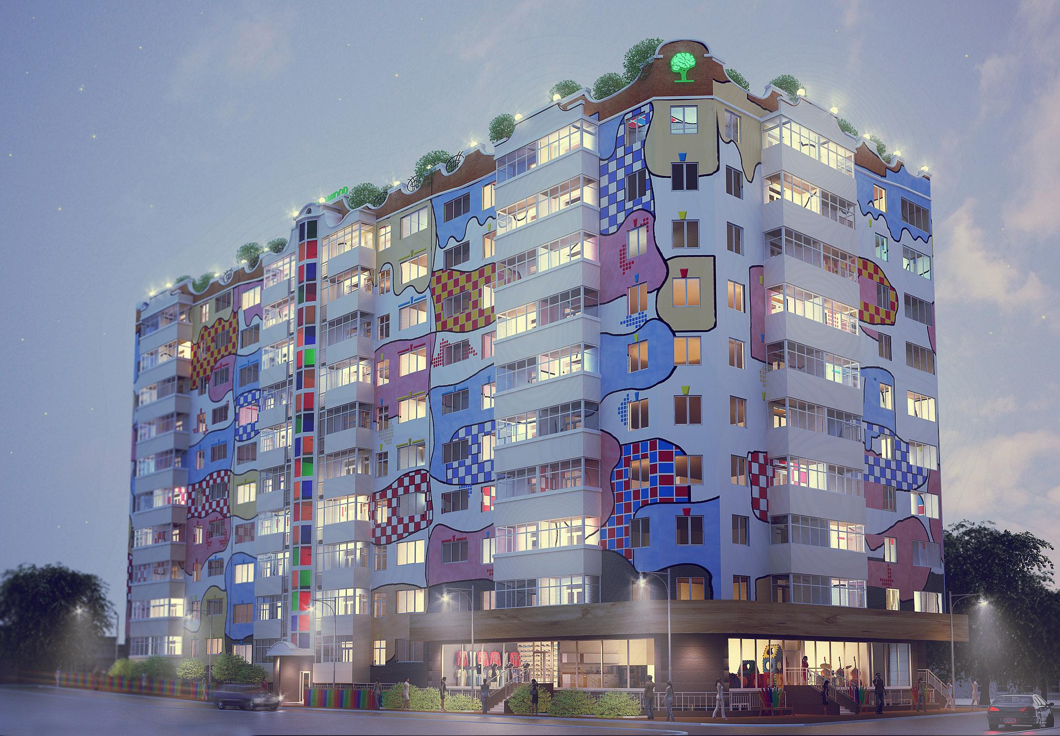 В центре Симферополя хотят остановить строительство «Дома художника»