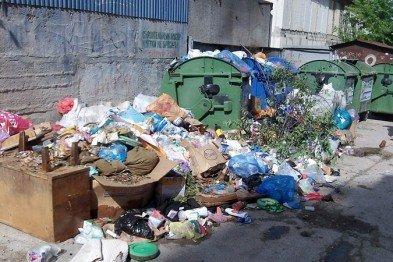 Благоустраивать контейнерные площадки в Симферополе будут еще два года
