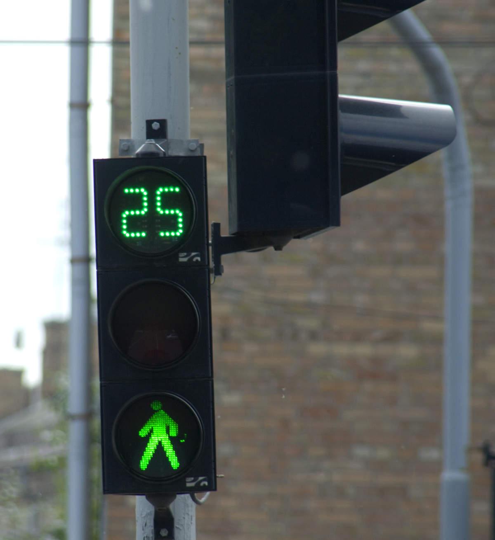 Евпаторийские светофоры работают по новой схеме