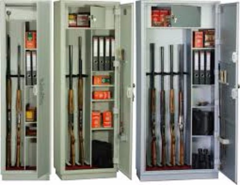 Шкафы и сейфы для оружия:  хорошее качество по приемлемым ценам