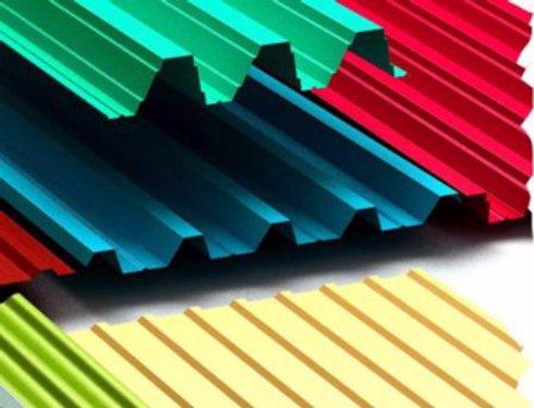 Полимерное покрытие металлических листов