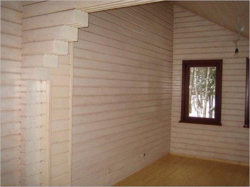 Выбор отделки стен в деревянном доме
