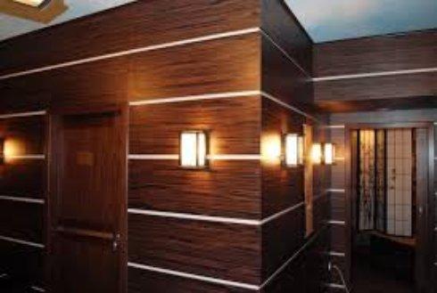 Стены из шпона: красиво и безопасно