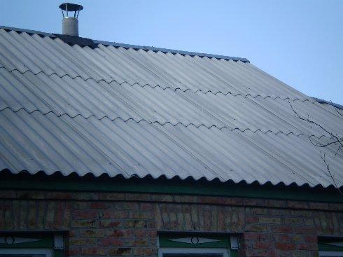 Как сделать шиферную крышу в доме?