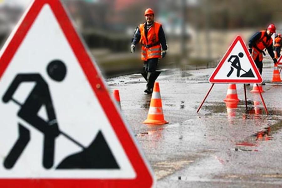 Новые крымские дороги уже начали разрушаться