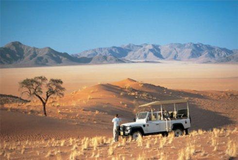 Экзотический туризм в Намибии