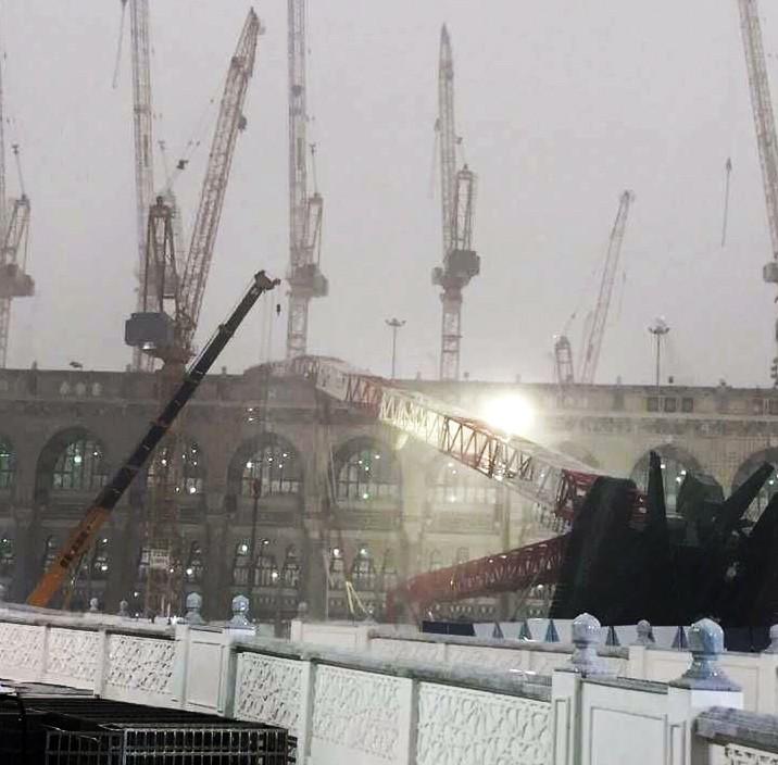 К счастью, крымчане в Мекке не пострадали