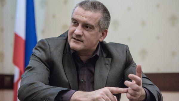 Аксенов поддерживает украинских десантников