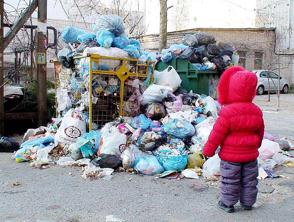 В Симферополе будут штрафовать людей, роющихся в мусорных контейнерах