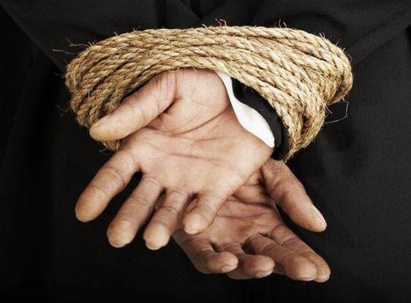 В Севастопольском районе задержан мужчина, участвовавший в похищении человека