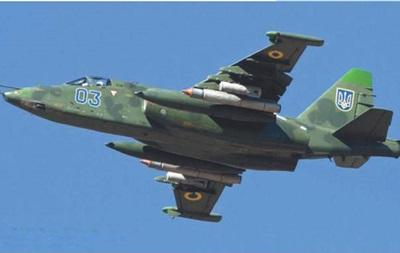 На трассе «Симферополь-Харьков» разбился военный самолет