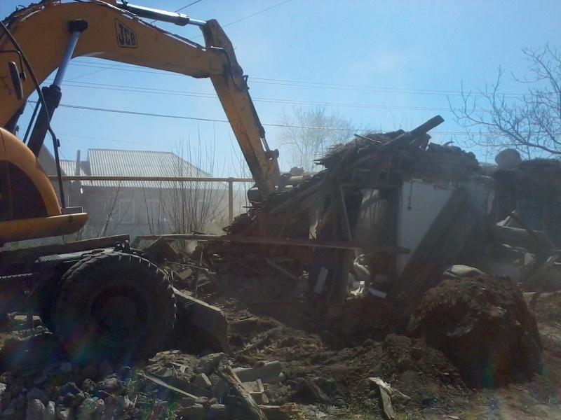 В Симферополе приезжий разрушил дом крымского татарина