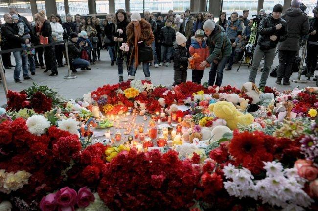 В Симферополе почтили память погибших в авиакатастрофе
