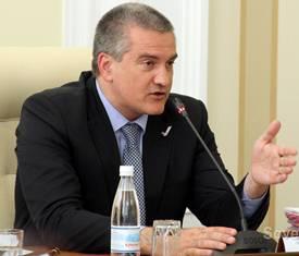 Аксенов остался недоволен графиком отключения электричества на полуострове
