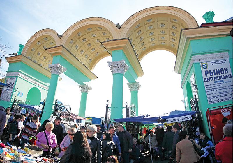 Симферопольские власти избавятся от торгового павильона на центральном рынке