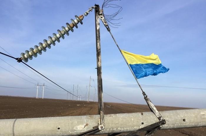 Крым опять пытались оставить без света