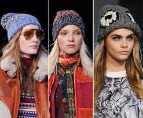 Первые модные тенденции 2016 года (шапки)