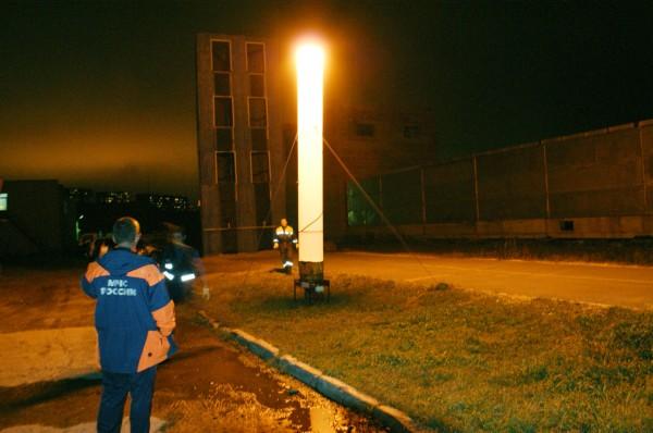 Освещать крымские улицы будут российские световые башни