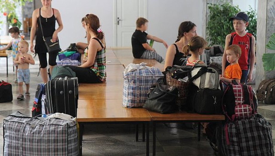 Украинские беженцы возвращаются в Крым