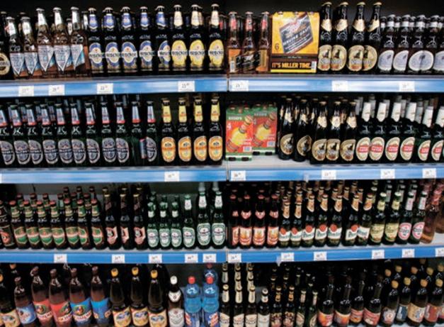 В Феодосии предприниматели торговали пивом прямо возле школы