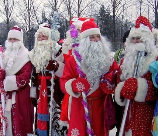 В Евпатории состоится традиционный фестиваль Дедов Морозов