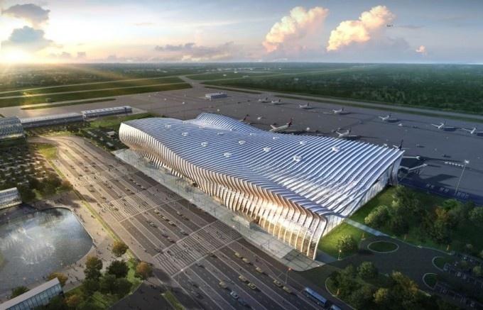 Обнародован проект реконструкции аэропорта «Симферополь»