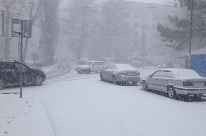 Встречать Новый год Крым будет со снегом