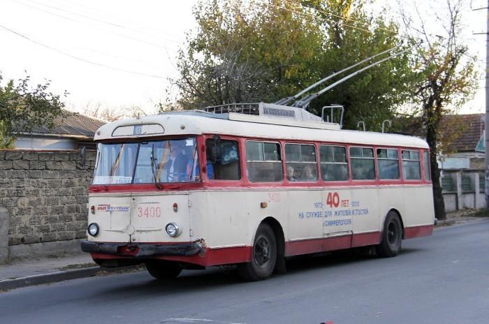 В Крыму новая фишка: возить туристов будут ретро-троллейбусы