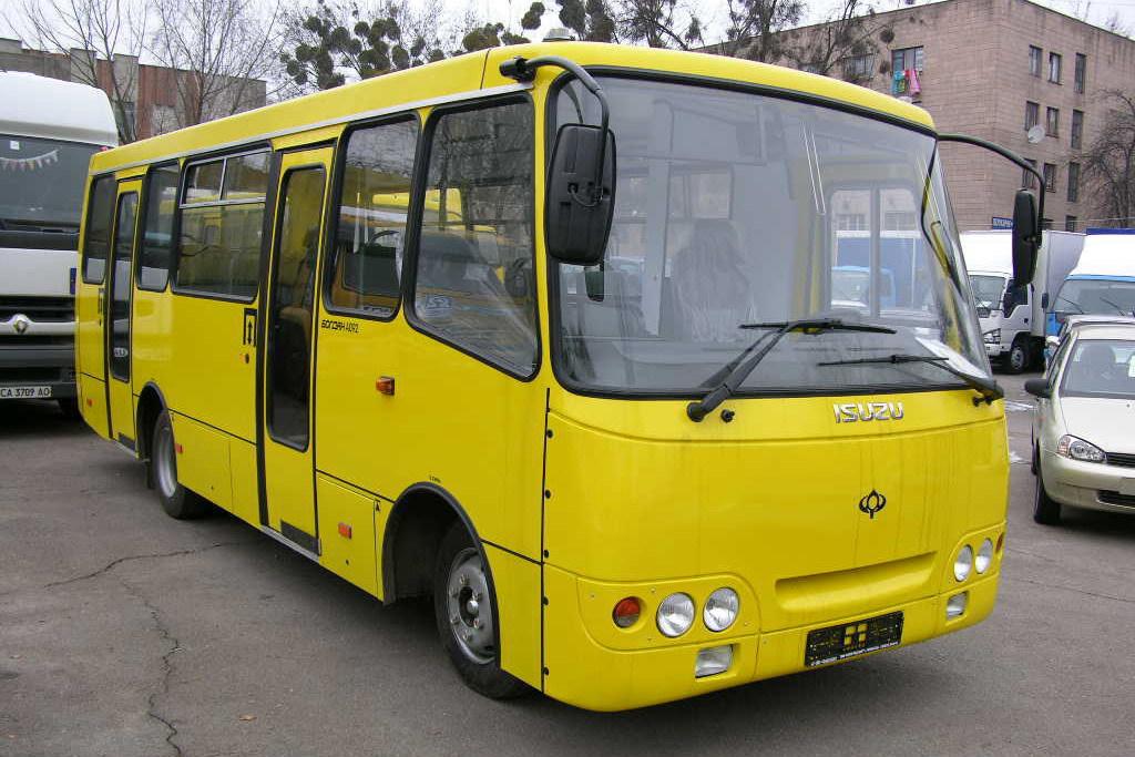 Поездка в евпаторийских автобусах будет стоить 13 рублей