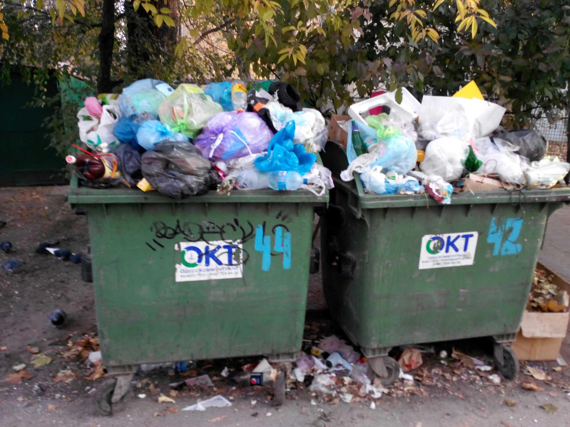 В Керчи некоторые ЖЭКи не вывозят мусор еще с начала этого года