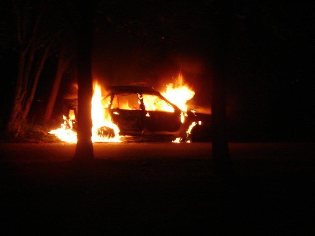 В Крыму сгорел очередной автомобиль