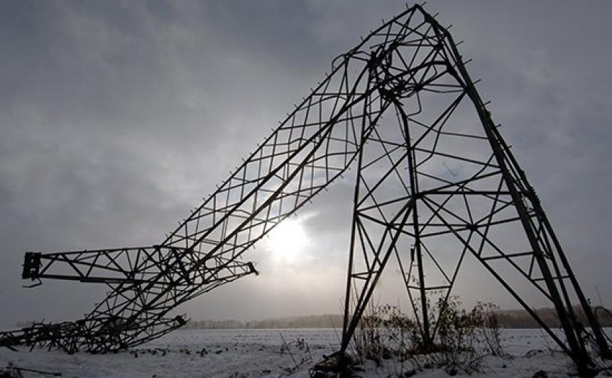 Опора ЛЭП в Херсонской области восстановлена и готова подавать электроэнергию