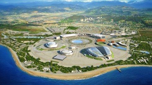 Олимпийский парк Сочи – главная спортивная арена страны