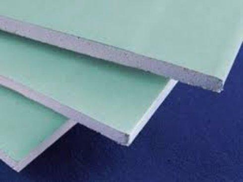 Строительные материалы: влагостойкий гипсокартон