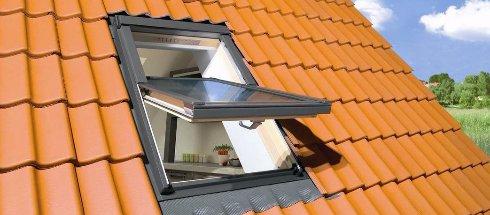 Строительные материалы: мансардные окна