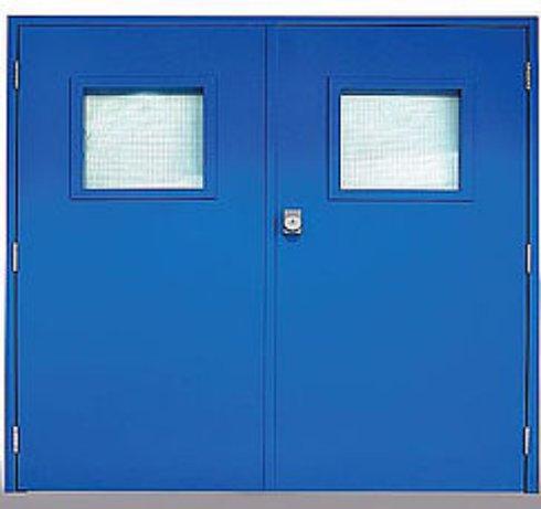входные двери в тамбур на этаже