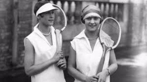 Развитие теннисной моды