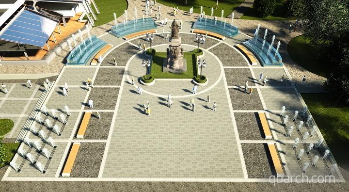 В Симферополе рассматривают проект реконструкции Центрального парка